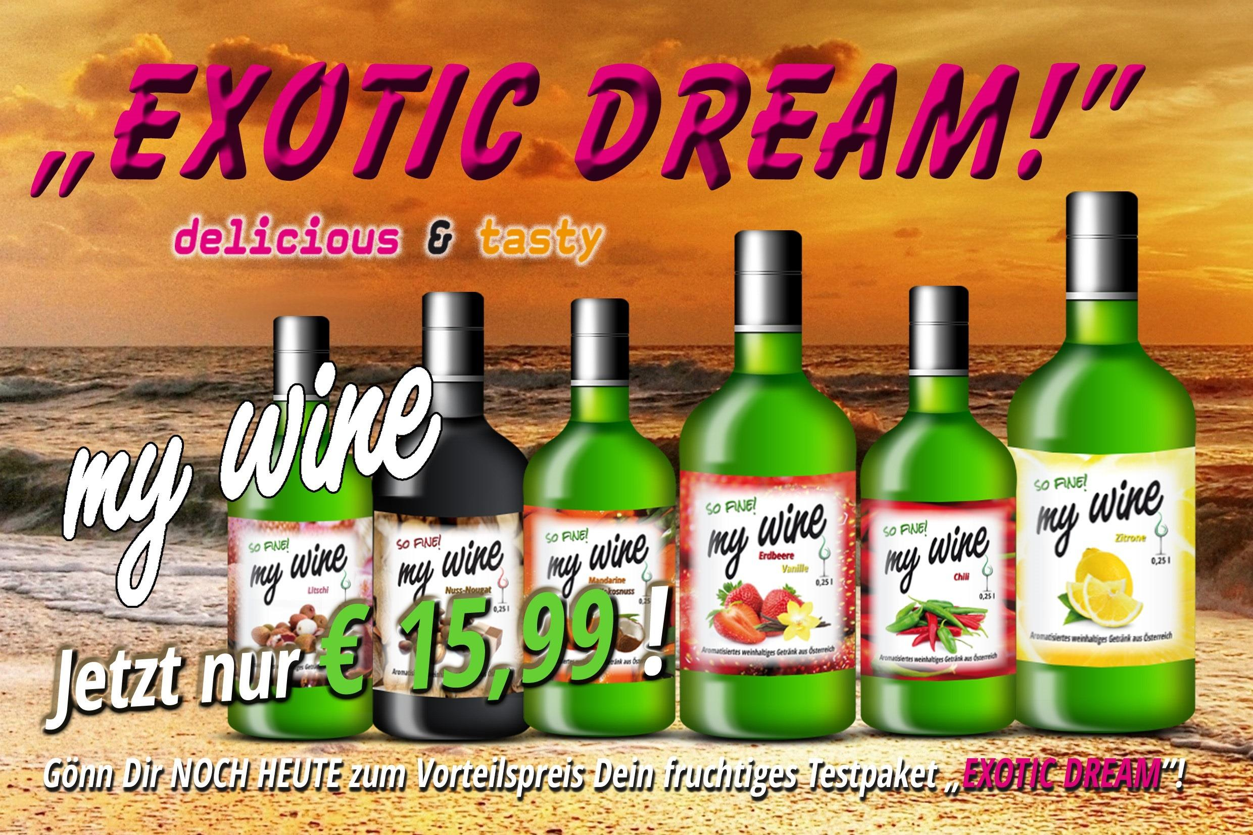 Mobile Slider MyWine Testpakete Exotic Dream